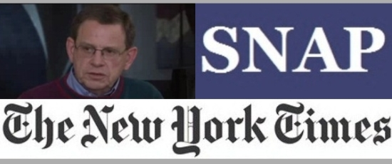 Rev. Thomas P. Doyle, SNAP, and the New York Times