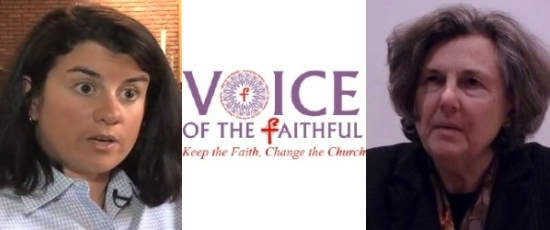 Jamie Manson and Phyllis Zagano :: Voice of the Faithful Conference 2012