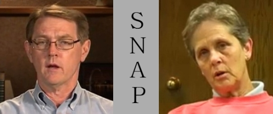 David Clohessy and Barbara Dorris - SNAP