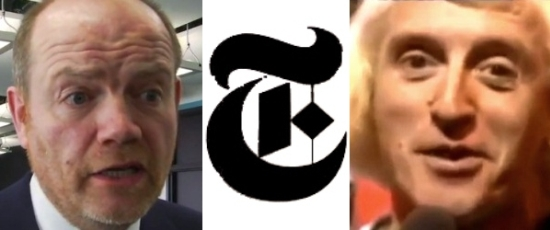 Mark Thompson and Jimmy Savile and the New York Times