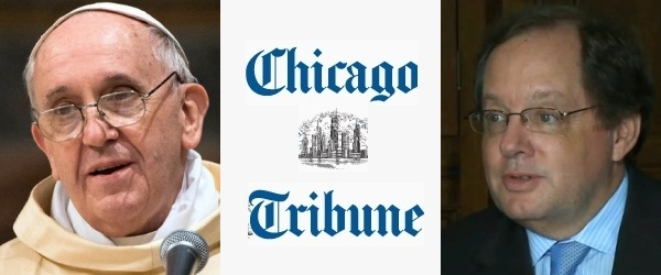 Pope Francis : Chicago Tribune : Bruce Dold
