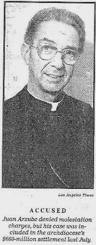 Bishop Juan Arzube : Los Angeles
