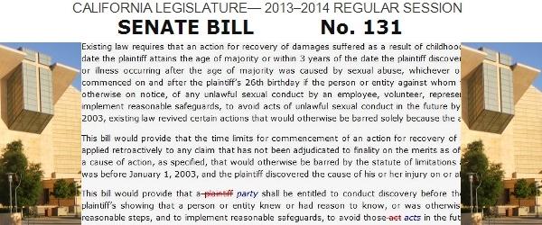 SB 131 : California Senate Bill 131
