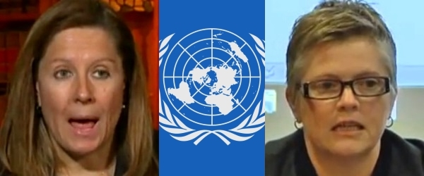 Barbara Blaine : United Nations : Pam Spees