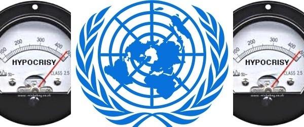United Nations hypocrisy