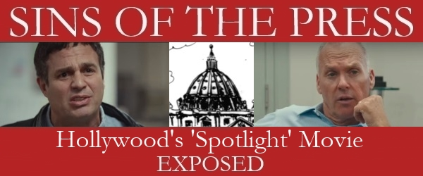 Spotlight Boston Globe movie exposed and debunked