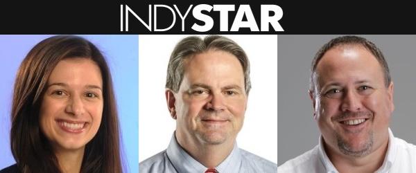 Indy Star : Marisa Kwiatkowski : Tim Evans : Mark Alesia