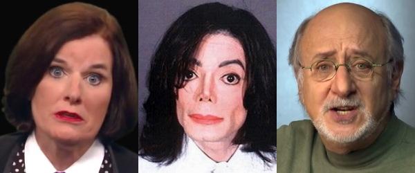 Paula Poundstone : Michael Jackson : Peter Yarrow